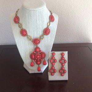 COPY - Stella & dot Sardinia Necklace & Earrings